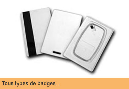 types de badges